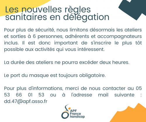 Les nouvelles règles sanitaires en délégation.png